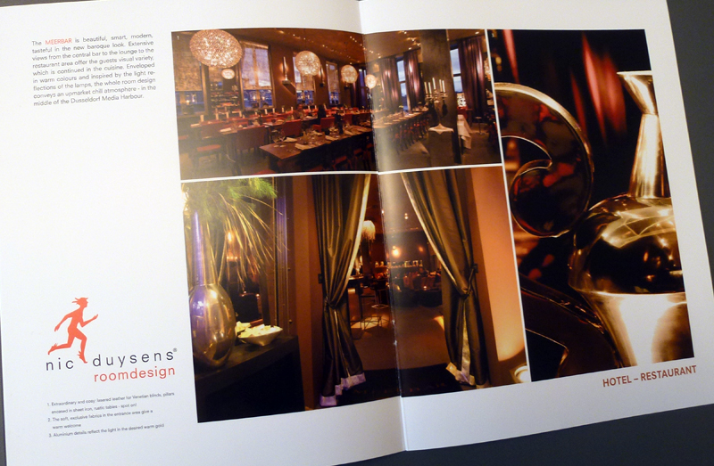 nic duysens roomdesign brosch re hotels und. Black Bedroom Furniture Sets. Home Design Ideas