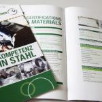 CARL HAMM – Kompetenz in Stahl | Imagebroschüren